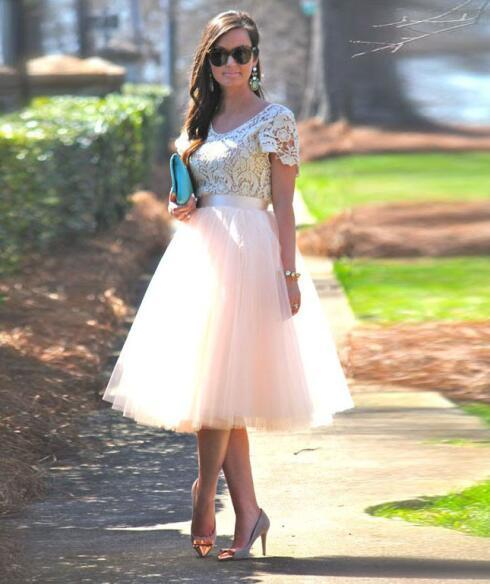 Midi Cyclamen Tulle Skirt  Party Cyclamen Pink Skirt  Bridesmaid Cyclamen Skirt