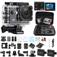 Two Battery 4K Wimius Wifi Action Camera 2 0 LCD Full HD Helmet Cam 16Mp1080p 60fps