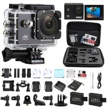 """Wimius экшн-камеры 4 К 1080 P Wifi Спорт HD Камара 2.0 """"мини видео широкий англ шлем CAM Видеорегистраторы для автомобилей для Открытый Go Водонепроницаемый Pro"""