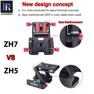 Image 5 - INNOREL ZH7 แบบพกพา Z Type กล้องพับขาตั้งกล้องแพนเอียง dslr rail และเดสก์ท็อป