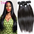Human Hair Extensions Straight Brazilian Virgin Hair Straight 5 Bundles Of Virgin Brazilian Hair Weave Bundles Straight Weave