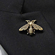 1 piece exquisite retro three-dimensional metal cute insect brooch jewelry wholesale suitable for men and women(China)