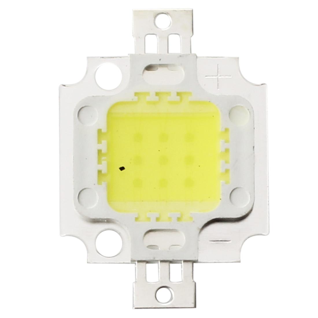 5 x High Power 10W LED Chip Birne Licht Lampe DIY Weiss 750LM 6500K