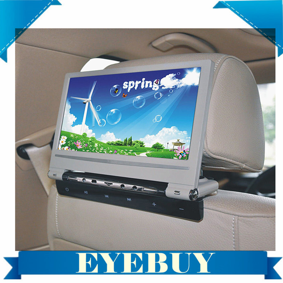 9 inch Touch key Car Auto DVD Player Headrest Monitors 800x480 32bit Game car dvd video