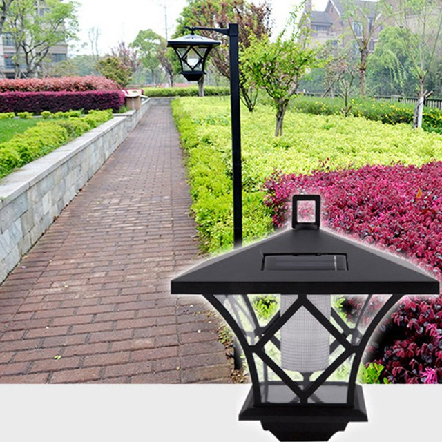 Solar Powered LED Garden Lamp Outdoor Path Landscape Lawn Waterproof Light  Lamp Garden Decoration NG4S