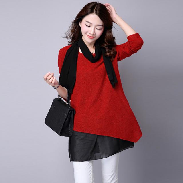 2017 primavera blusa de maternidade 100% algodão rendas vestidos o pescoço de três quartos moda gravidez blusa tops
