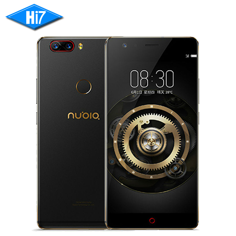 NEW Original Nubia Z17 128GB ROM 6GB RAM 5.5 inch Octa Core Android 7.1 Dual Rear Camera Snapdragon 835 3200mAh LTE Cell Phone