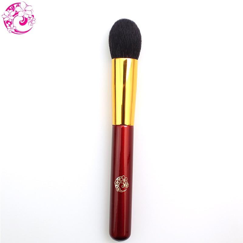 ENERGY Brand Professional Blush Brush Goat Hair Makeup Brushes Make Up Brush Pinceaux Maquillage Brochas Maquillaje Pincel L204 make up factory blush brush