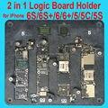 2 в 1 Материнская Плата Зажимы Высокой Температуры Главная Логика ПЕЧАТНОЙ Платы Приспособление держатель для iPhone 5 5C 5S 6 6 S Plus Fix Ремонт Плесень инструмент