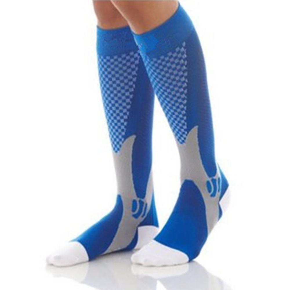 Compression Socks Casual Style Knee High/Long Elastic Nylon Hosiery Running Footwear Accessories