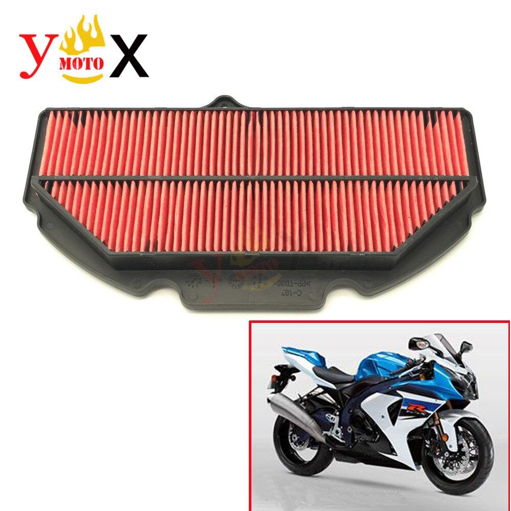 GSX-R1000 K9 Sport Motorcycle Cotton Gauze Air Filter Intake Cleaner For Suzuki GSXR1000 GSXR 1000 2009-2016 2010 2011 2012 2013