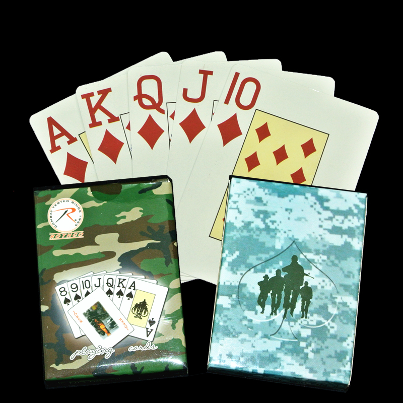 1pcs Poker Paper Poker Elderly Large Font Large Angle Code Standard Size Playing Card