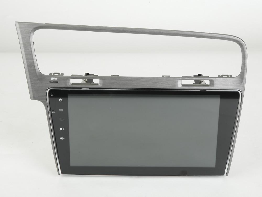 2G RAM 10.1 pouces Android 6.0 système de Navigation GPS voiture lecteur Audio Radio automatique multimédia stéréo médias pour Volkswagen VW Golf 7