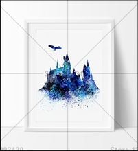 New Needlwork Diamond Embroidery 5D DIY Painting Cross Stitch castle and the eagle Crystal Full Set Decorative