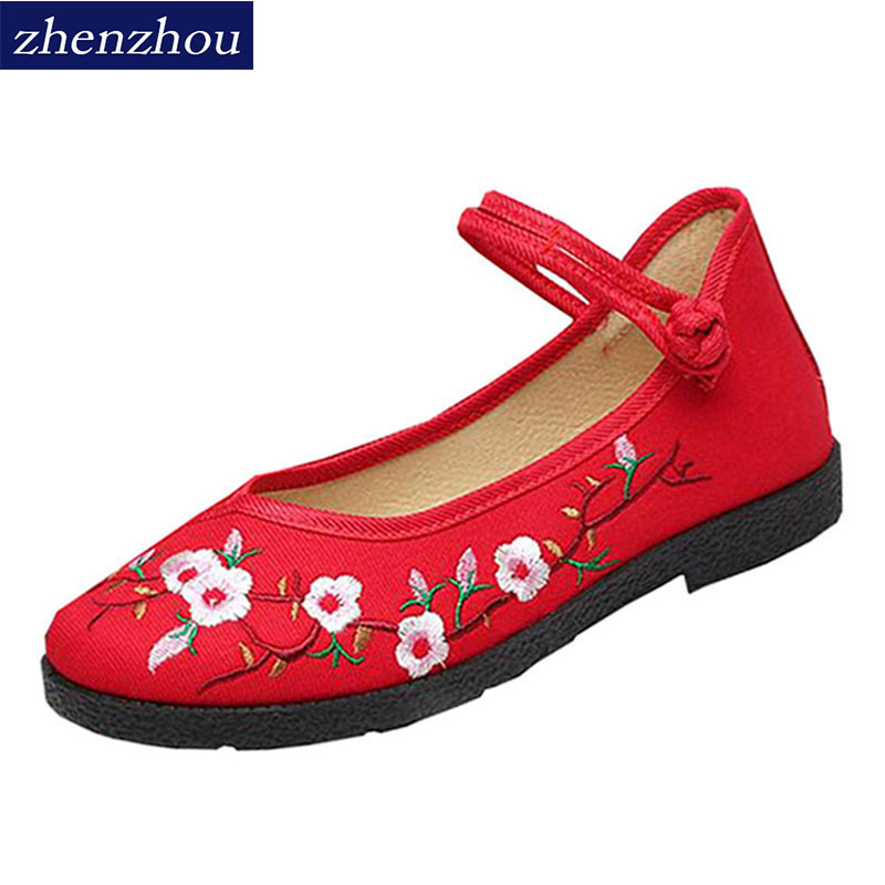 zhen zhou 2017 spring and autumn women's new fashion trend leadership Old Beijing cloth shoes China's windexemption from postage old and new terrorism