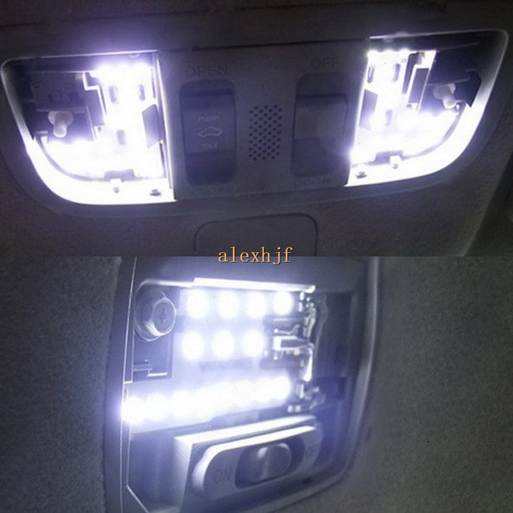 July king 6000k led car interior reading lights case for - 2015 honda accord interior illumination ...