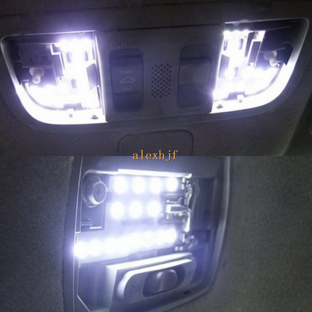 July King 6000k Led Car Interior Reading Lights Case For Honda City