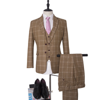 NA53 Two Buttons Custom Make Mens Wedding Suits Made To Measure Fit Male Tuxedos Dress Suit Celebration Patry Suits