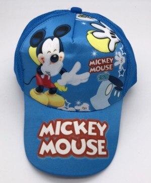 2019 Mode 1 Stücke Cartoon Neue Blau Mickey Mode Sonne Hut Mario Casual Cosplay Baseball Cap Kinder Party Geschenke Angenehm Bis Zum Gaumen