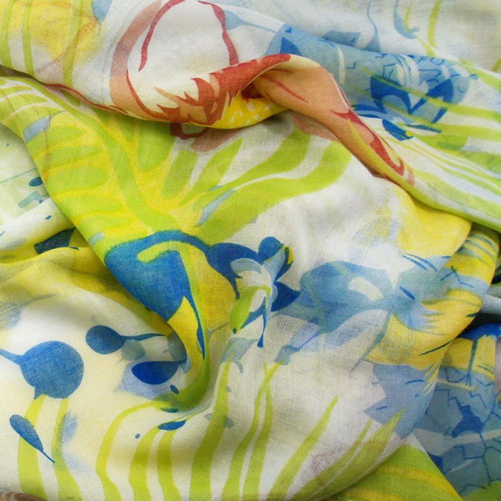 Summer Flower Loop Scarves | Infinity Scarves