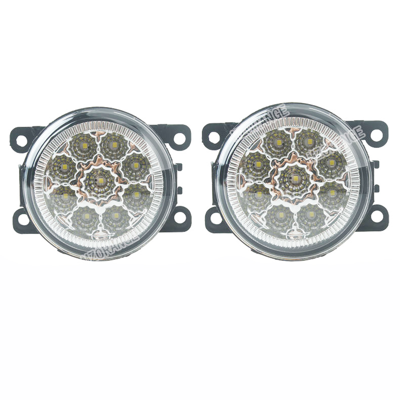 Fog Light for Renault Duster Megane 2/3 Fluence Koleos Kangoo 2003-2015 1 set Fog Lamp Assembly Super Bright Led Fog Lights