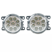 6000K CCC 12V car-styling DRL Fog Lamps lighting LED Lights 9W /1 SET For Renault DUSTER LATITUDE LOGAN Laguna / MEGANE 2/3/CC цена в Москве и Питере
