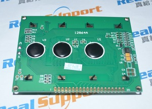 Image 3 - 12864A without font 93*70 12864 KS0108 LCD 128*64 12864 Blue / Green
