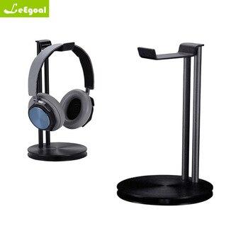 Double Heads Headphone Headset Stand Holder Stand Holder Fashion Desktop Storage Display For Headphones Bracket for Smart Watch