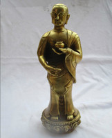 Wedding Decorations/Art Collection Chinese Brass Carved Big Buddha Statue /Home Decoration Metal Sculpture