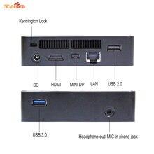 Мини HTPC комплект NUC Intel Core i7 6500U/I5 6200U Barebone PC NGFF (M.2) 22*80, до 2 ТБ Бесплатная доставка