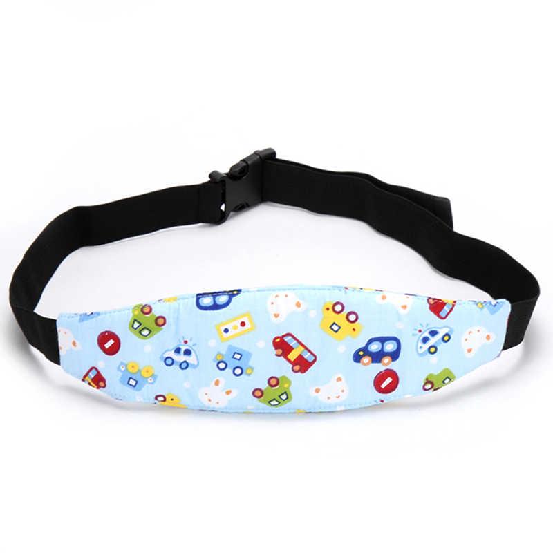 Nuevo 1 Pza Corralitos ajustables cinturón de posición para dormir soporte para la cabeza del bebé asiento de coche de seguridad posicionador para dormir accesorios para cochecito