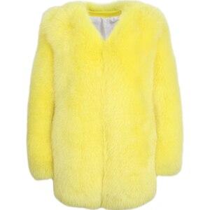 Image 1 - Donne reale della pelliccia del cappotto della signora del cappotto di pelliccia naturale inverno pelle pieno di volpe cappotto di pelliccia