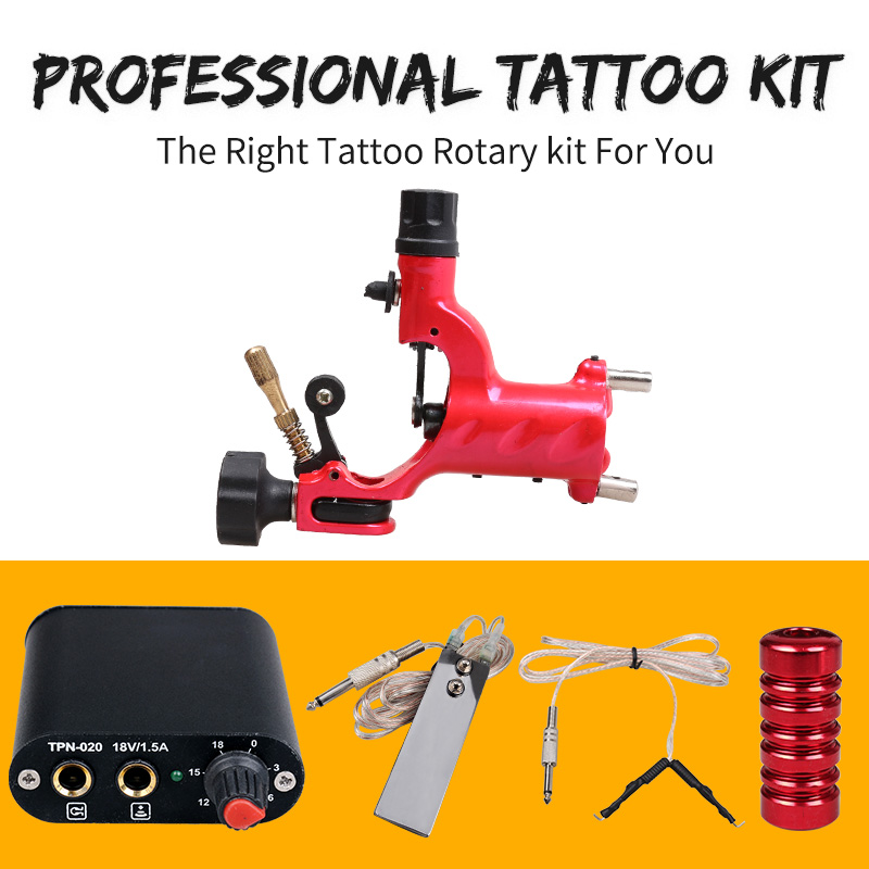 how to use a tattoo gun without a power supply