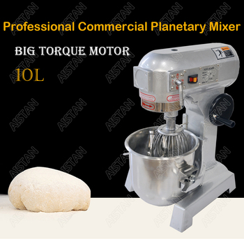 ZB10L stainless steel electric food mixer planetary mixer dough mixer, egg beater machine 2