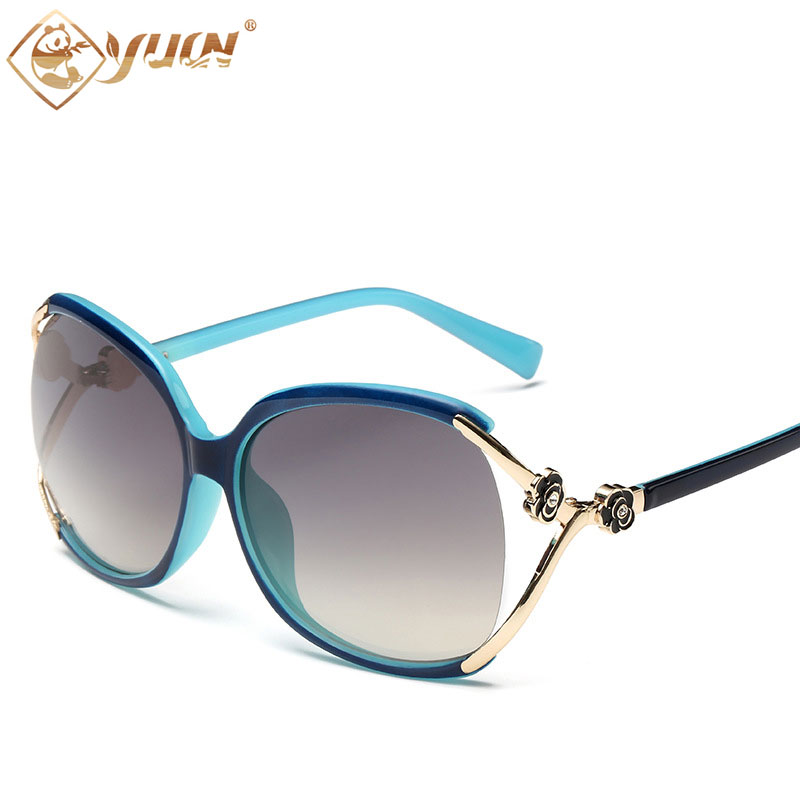 060ec93a44b Hot sale electric women sunglasses fashion ladies sun glasses high quality  summer female shade 523-in Sunglasses from Apparel Accessories on  Aliexpress.com ...