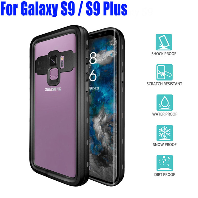 info for 155c7 d7a9b US $625.01 |50X For Galaxy S9 / S9 Plus Diving Underwater Original  RedPepper Dot Series IP68 Waterproof Case PC + TPU Armor Cover S901-in  Fitted Cases ...
