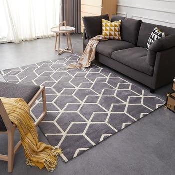 Amerikanischen Stil Geometrische Muster Teppich, Große Größe Wohnzimmer  Teppich, Rechteck Boden Matte, Pastoralen Hause Dekoration Boden Matte