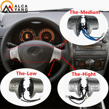 Bluetooth Lenkrad Audio Control Schalter 84250-02200 Für Toyota Corolla ZRE15 2007 ~ 2010