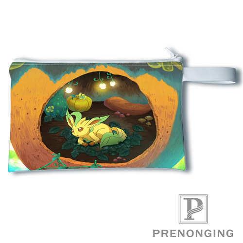 Custom eevee   (2)Printing Coin Purse Change Purse Zipper Zero Wallet Phone Key Bags Fashion Small Female Purse#19-01-22-4-202