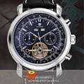 OUYAWEI Men Big Case Automatic Mechanical Tourbillon Montre Clock Date Day Luxury Wristwatch