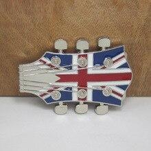 Cowboys Werstern Triumph UK Flag Belt Buckle Metal Luxury Mens Designer Belt Buckles Christmas Gift