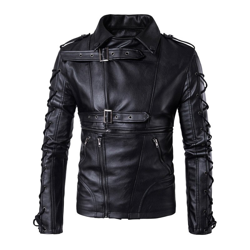 New Retro PU Leather Motorcycle Jackets Men Moto Jackets Hip Hop Streetwear Biker Classic Motorcycle Leather Jackets Size M-5XL lizard сандали hip m leather 45 black