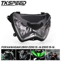 Motorcycle Headlight Headlamp Head Light Lamp Assembly For Kawasaki Z800 Z250 2013 -2016 Z300 2015 2016