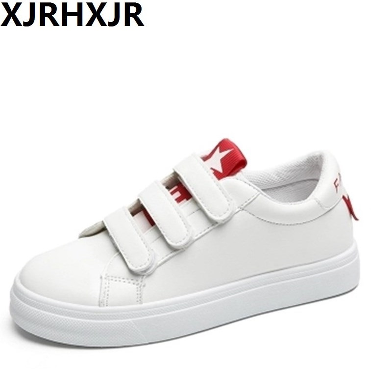 XJRHXJR 2018 Fashion Flats White Shoes Women Trainers Casual Shoes Women Comfortable Ladies Flats Female Zapatillas Mujer 2017brand sport mesh men running shoes athletic sneakers air breath increased within zapatillas deportivas trainers couple shoes