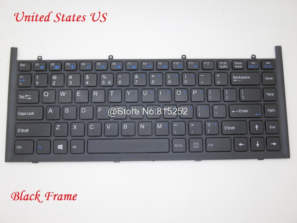Laptop Keyboard For CLEVO W840SN W840SU-T Belgium BE/Denmark DM/France FR/Germany GR/Korea KR/Spain SP/Swiss SW/United Kingdom new laptop keyboard for medion md98068 md98081 md98083 md98099 md98101 md98102md981895 md98231 md98232 md98233 sw switzerland