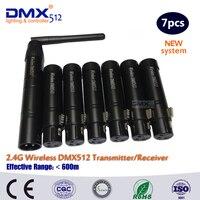 Vender Controlador DMX LED inalámbrico DHL envío gratis transmisor y receptor inalámbrico dmx 512 Controlador led táctil