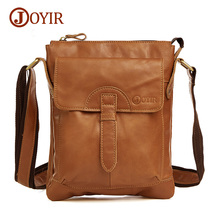 Joyir Genuine Leather Men Bag Shoulder Casual Retro Bags Men Genuine Leather Crossbody Bags For Men Messenger Bags Handbags 8692