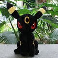 "Wholesale cheap price Free shipping Pokemon Plush Toys 13""  Sitting Umbreon Soft Stuffed Animals Toy Figure Collectible Doll"