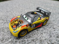 Original Pixar Car Carbon Fiber Racer 1:55 Metal Diecast Camino Miguel Toy Cars New Loose