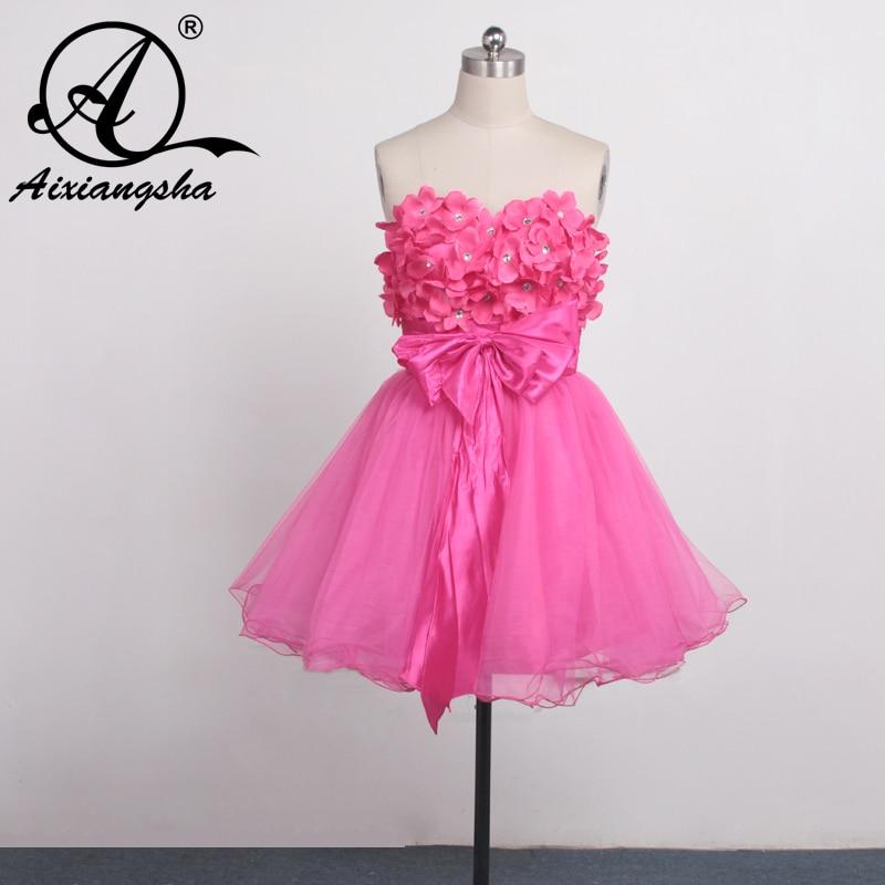 Custom Made Cheap 2016 Homecoming Dresses Short Prom Dress